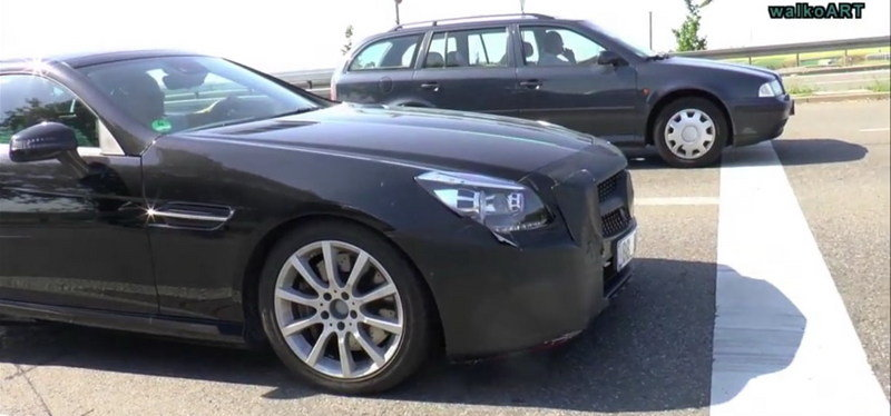 2017 Mercedes SLC Caught On The Road: Spy Video