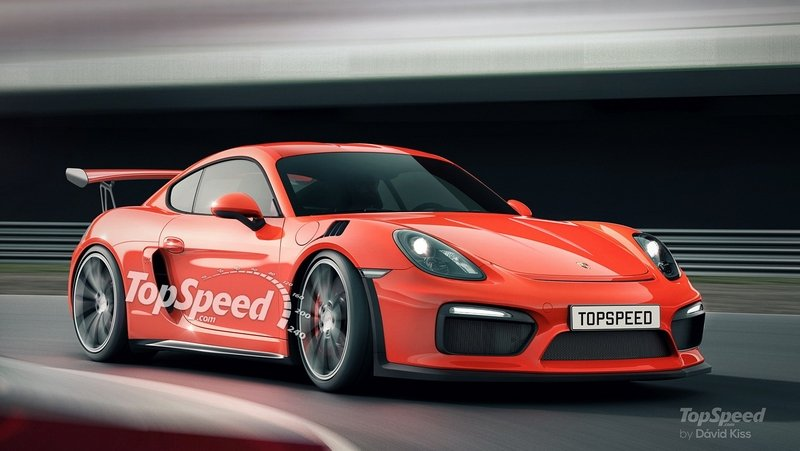 2020 Porsche 718 Cayman GT4 RS Exterior Exclusive Renderings Computer Renderings and Photoshop - image 637442