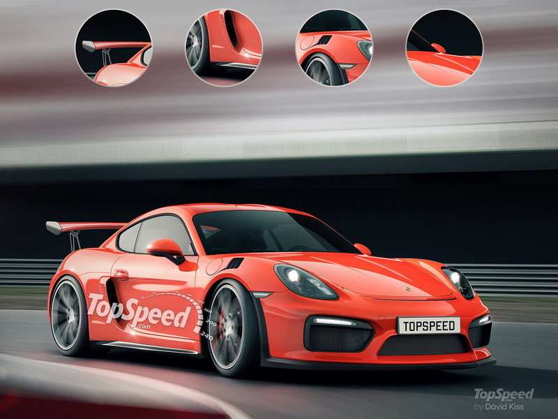 2020 Porsche 718 Cayman GT4 Exterior Exclusive Renderings Computer Renderings and Photoshop Spyshots - image 637441