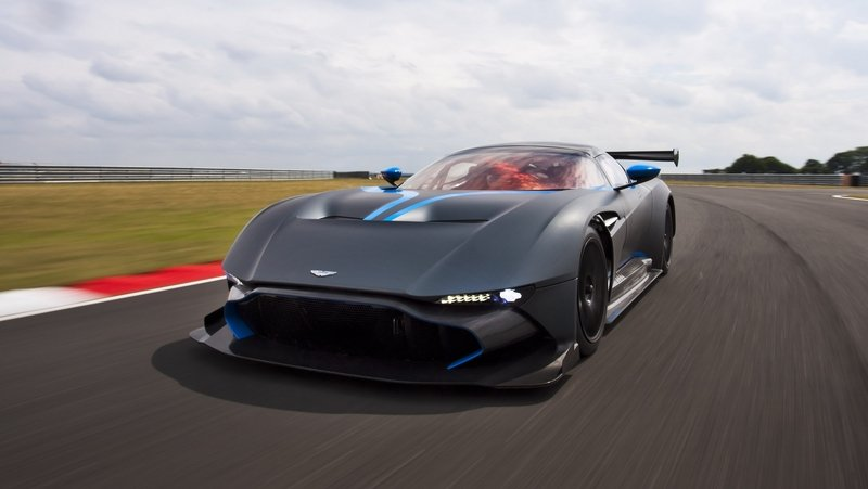Aston Martin Vulcan Will Race At 24 Hours of Spa