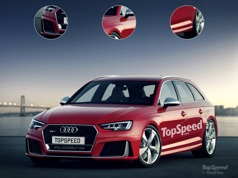 2018 Audi RS4 Avant Exterior Exclusive Renderings Computer Renderings and Photoshop - image 635833