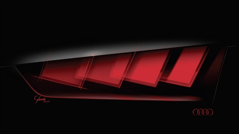 Audi Teases New Concept With Matrix OLED Technology For 2015 Frankfurt