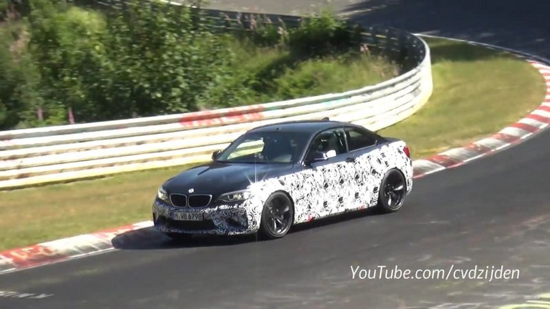 BMW M2 Returns To Nurburgring: Video