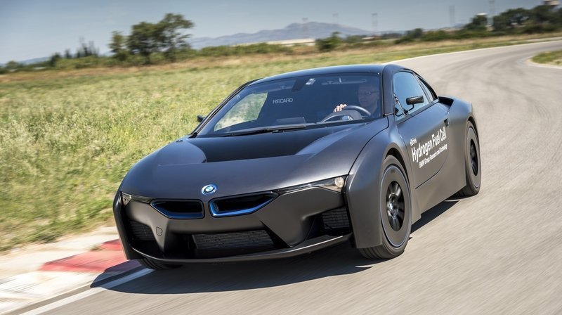 2015 BMW Hydrogen Fuel Cell Research Vehicle