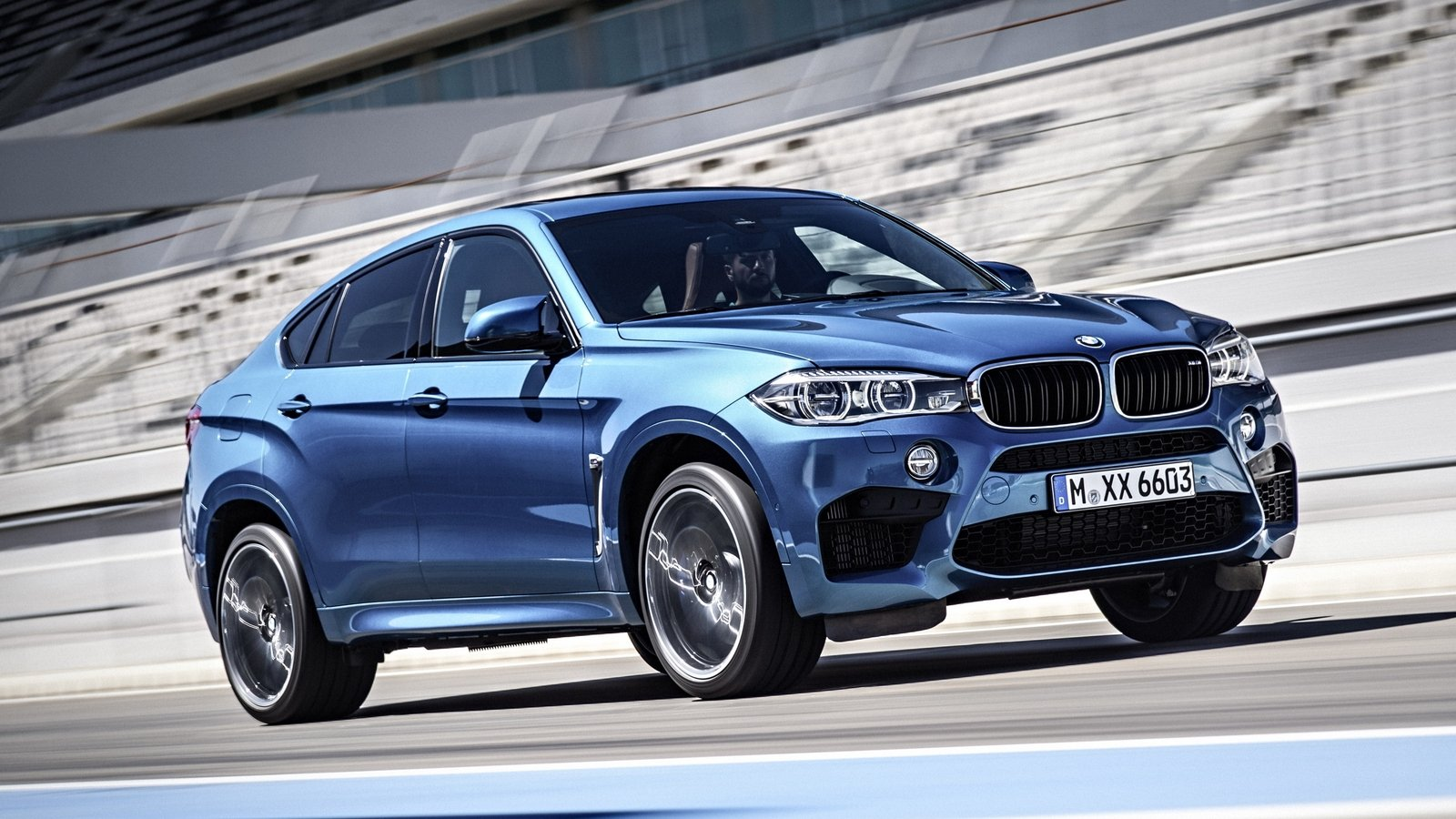 Bmw x6 m reportedly lapped the nurburgring in 8 20