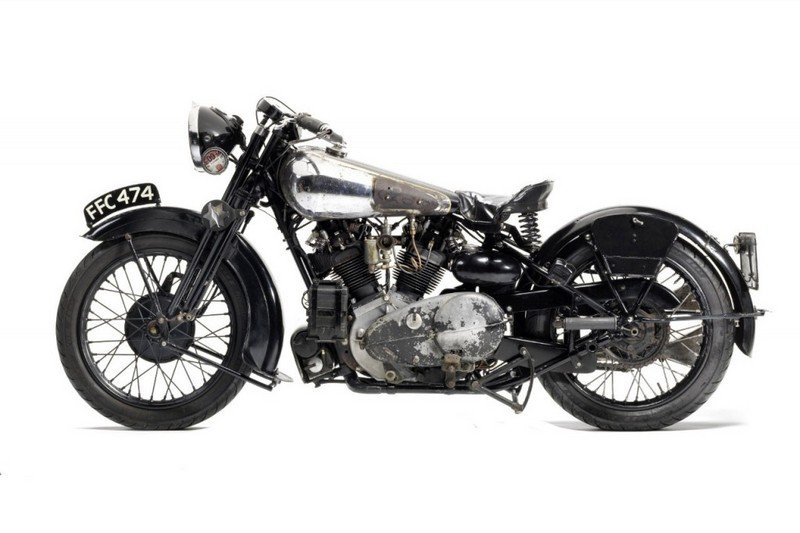 Brough Superior Headlines Auction Lot At Bonhams