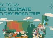 "Car Infographic: ""NYC to LA: The Ultimate 30 Day Road Trip"" - image 638496"