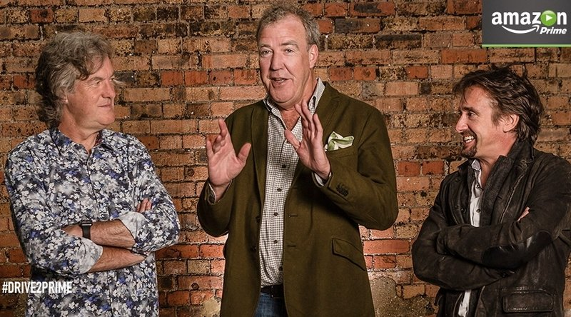 Clarkson, May & Hammond's New Show Coming To Amazon Prime