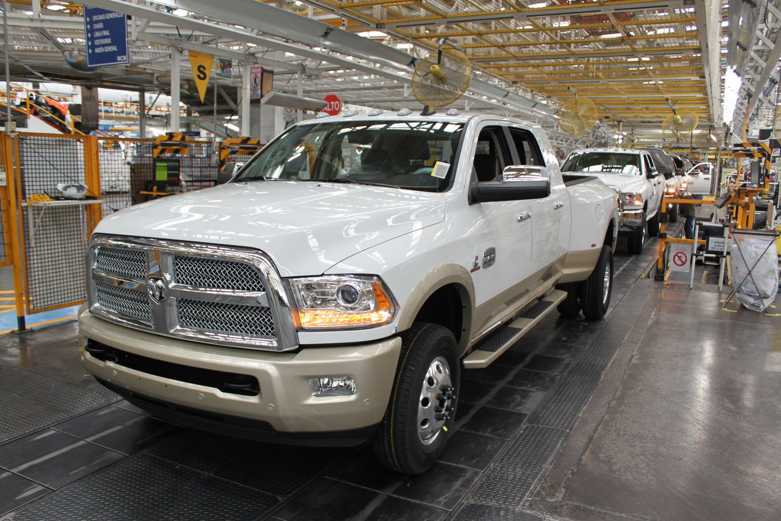 First 2016 Ram 3500 Heavy Duty Leaves The Assembly Plant ...