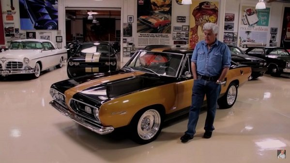 Jay Leno Reviews Plymouth Hurst Barracuda Video News Top Speed