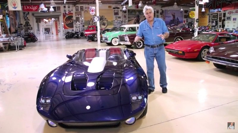 Jay Leno Reviews Excalibur RS: Video
