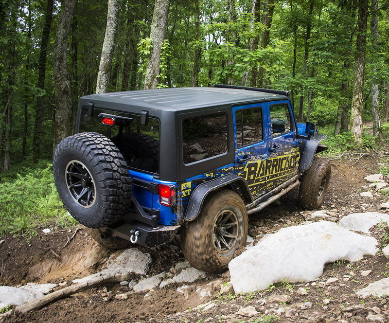 2015 Jeep Wrangler Rubicon Project Trail Force