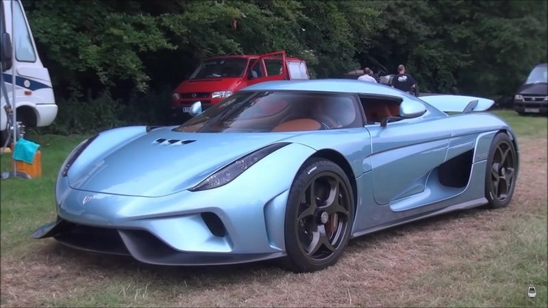 Koenigsegg Regera Spotted Around Goodwood: Video