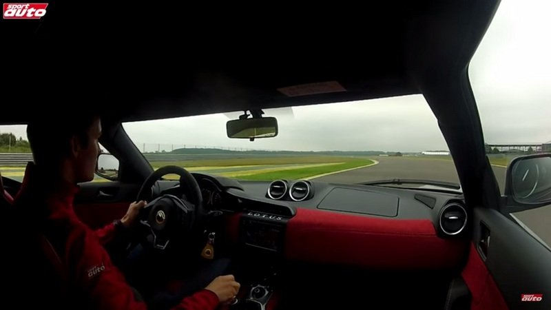 Lotus Evora 400 Driven On The Track: Video
