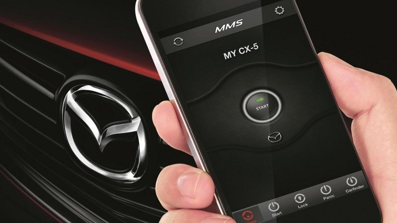 "Mazda Announces ""Mobile Start"" Smartphone Application"