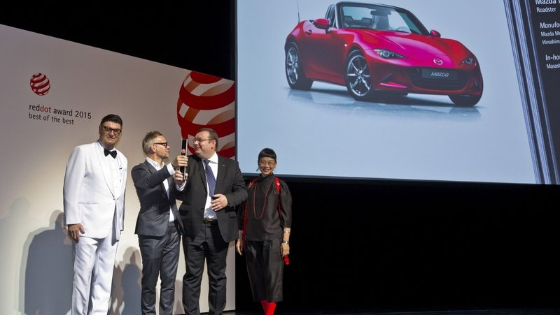 "Mazda Receives Five ""Red Dot ""Awards: Miata Gets Best Of Best"