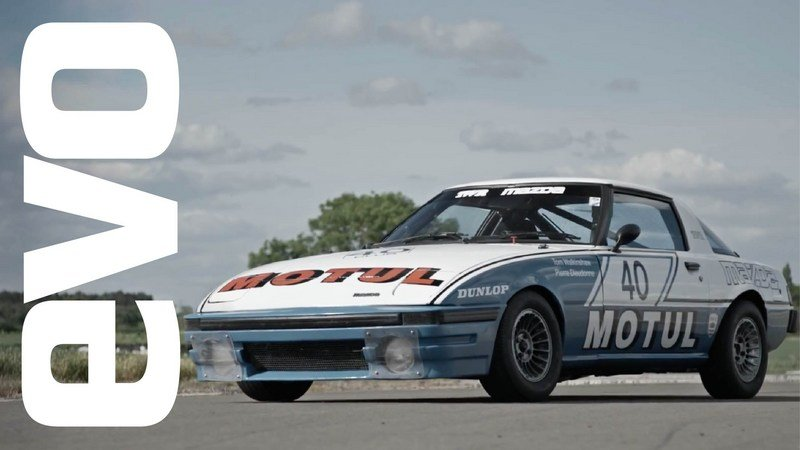 1981 Mazda RX-7 TWR Race Car