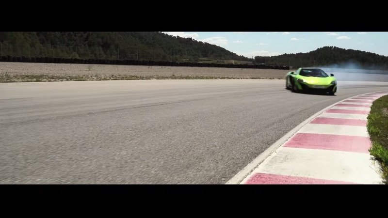 McLaren 675LT Unleashed On The Track: Video