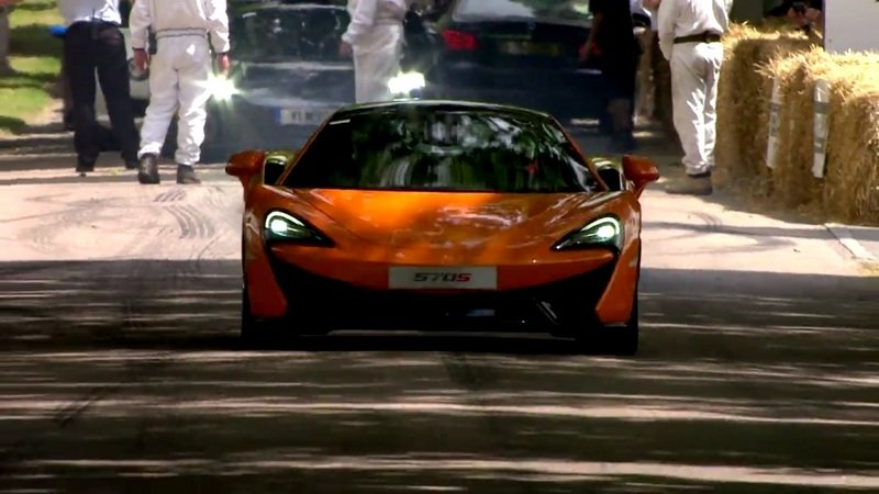 McLaren At The 2015 Goodwood Festival of Speed