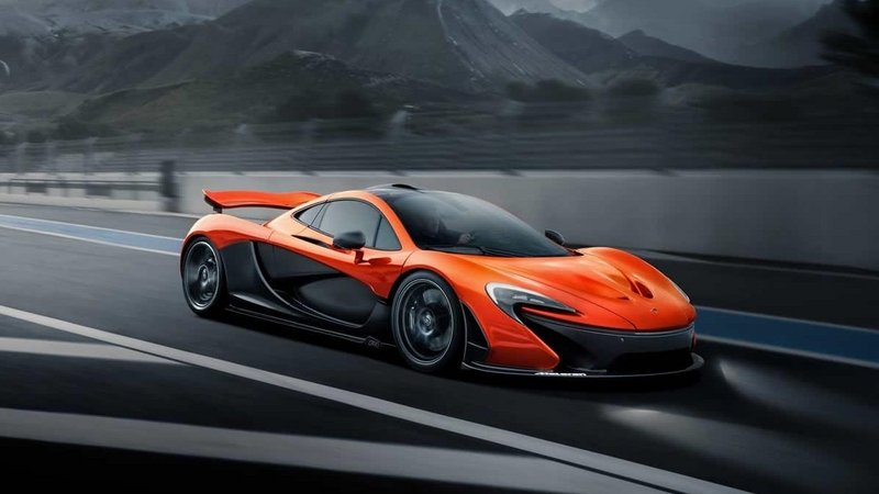 2015 McLaren P1 By MSO With Exposed Carbon-Fiber Body Sides