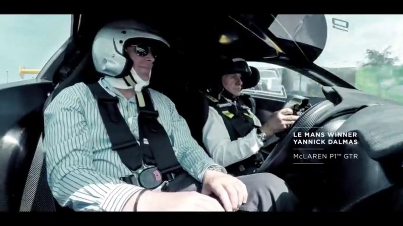McLaren's Victory Lap at Le Mans: Video