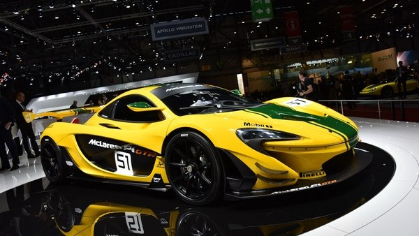 mclaren starts production of p1 gtr 42 of 45 units already ordered news top speed. Black Bedroom Furniture Sets. Home Design Ideas