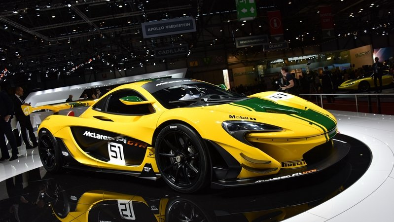 McLaren Starts Production Of P1 GTR; 42 of 45 Units Already Ordered