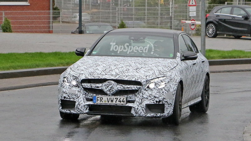 Mercedes-AMG E63 Caught Testing For The First Time: Spy Shots