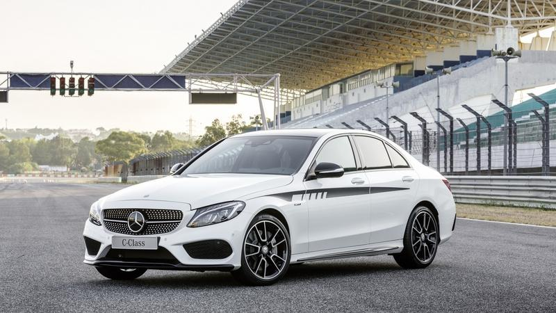 2015 Mercedes C-Class With AMG Accessories