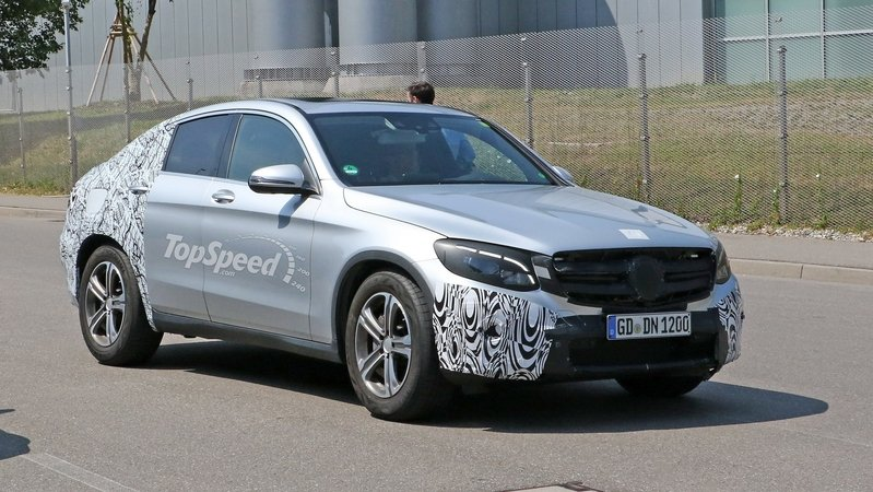 Mercedes GLC Coupe Caught Testing In Germany: Spy Shots