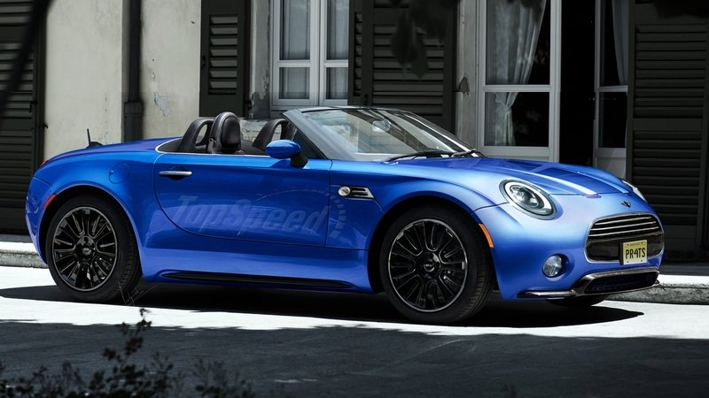 Mini Superleggera Roadster Will Compete With The MX-5