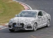 Next Audi A5 Caught Testing For The First Time: Spy Shots - image 636752