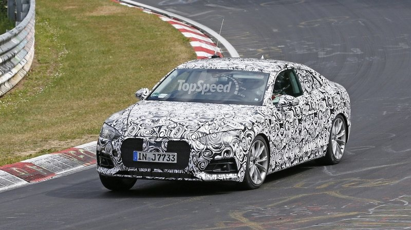 Next Audi A5 Caught Testing For The First Time: Spy Shots