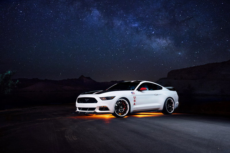 One-Off Ford Mustang Apollo Edition Will Be Auctioned For Charity