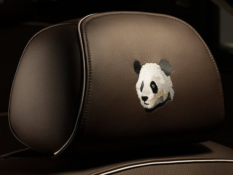 2015 Roll Royce Ghost Chengdu-Panda
