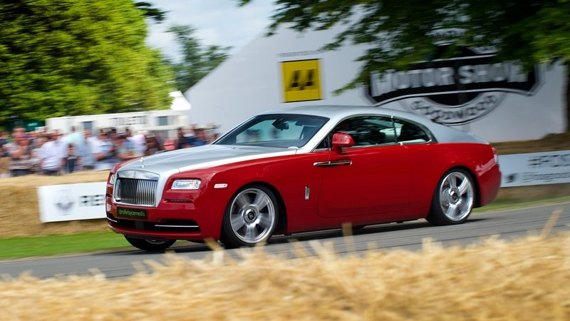 Rolls-Royce Sets New Goodwood Record