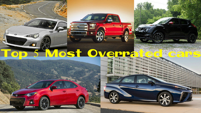 The 5 Most Overrated Cars