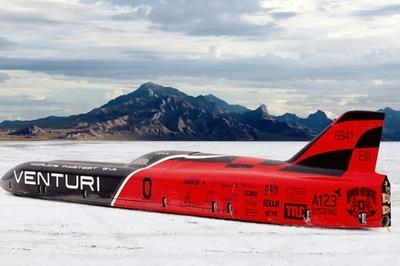 Venturi VBB-3 Wants To Hit 373 MPH At Bonneville Salt Flats