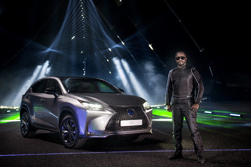 will-i-am And Lexus Create A Laser And Sound Spectacular