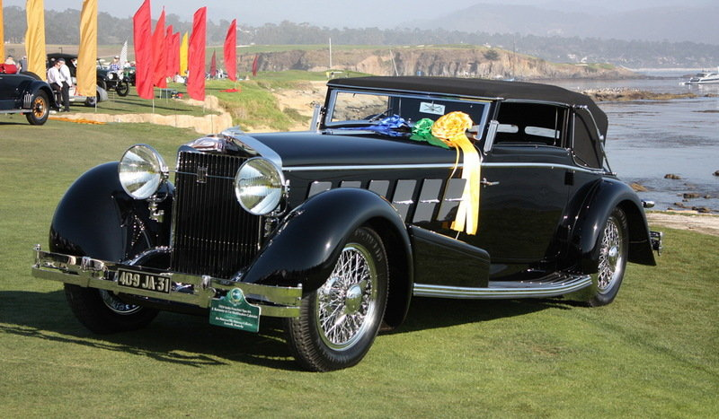 1924 Isotta Fraschini Tipo 8A Cabriolet