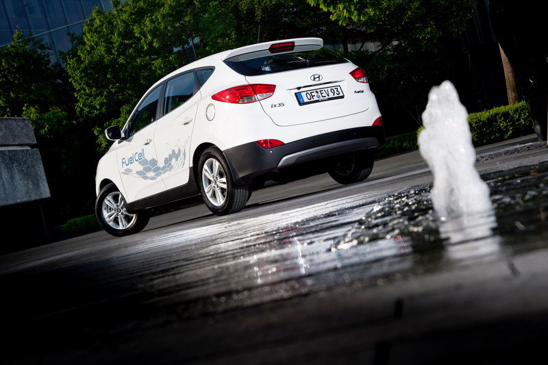 2013 Hyundai ix35 Fuel Cell Vehicle