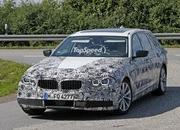 2016 BMW 5 Series Touring Caught Testing Again: Spy Shots - image 638981