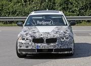 2016 BMW 5 Series Touring Caught Testing Again: Spy Shots - image 638977