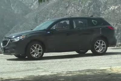 2016 Mazda CX-9 Prototype Spotted Testing in California: Video