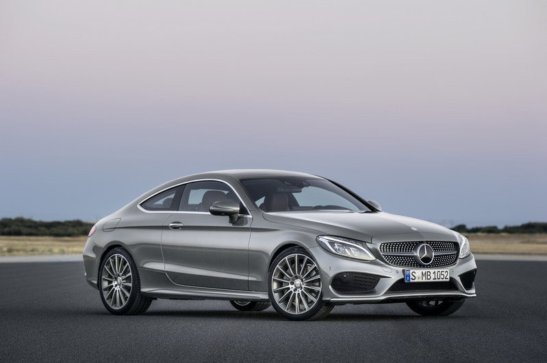 2017 Mercedes-Benz C-Class Coupe High Resolution Exterior - image 640352