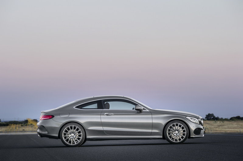 2017 Mercedes-Benz C-Class Coupe High Resolution Exterior - image 640353