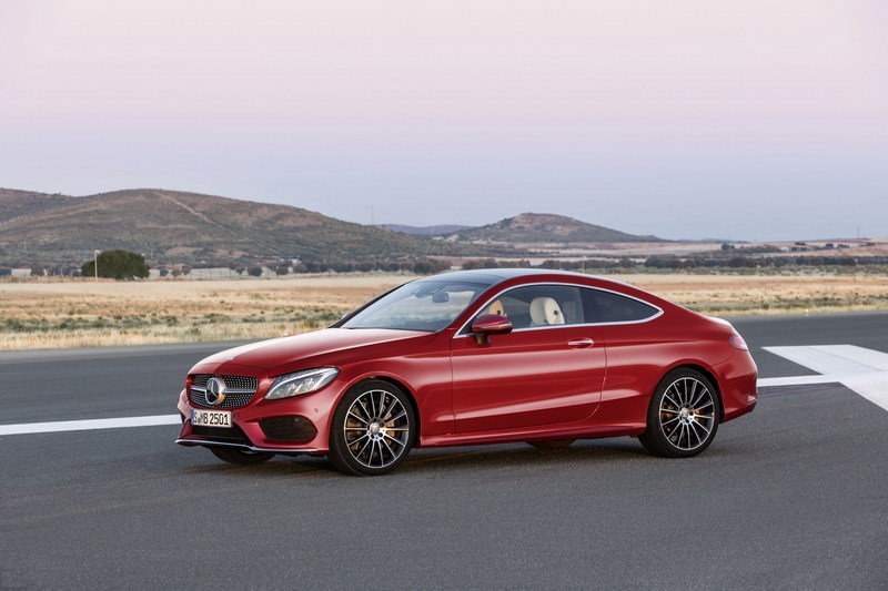 2017 Mercedes-Benz C-Class Coupe High Resolution Exterior - image 640370