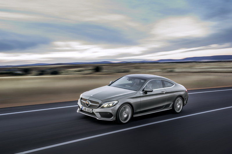 2017 Mercedes-Benz C-Class Coupe High Resolution Exterior - image 640346