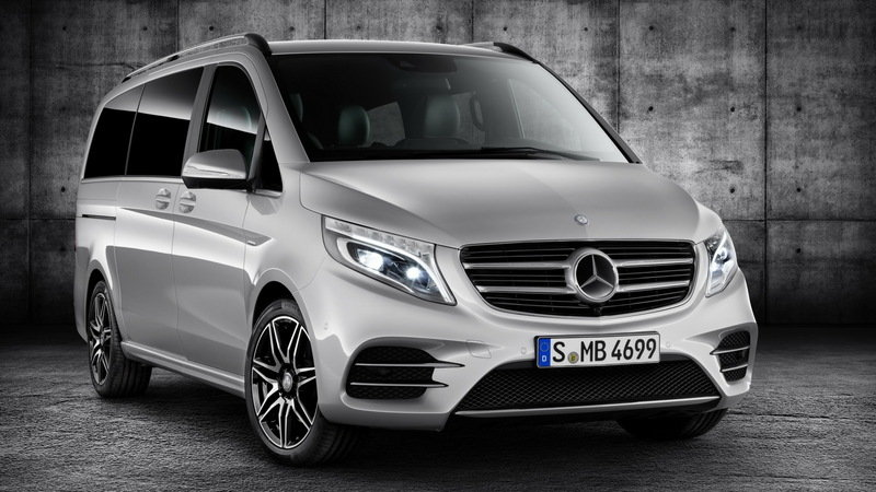 2016 Mercedes-Benz V-Class AMG Line High Resolution Exterior - image 643479