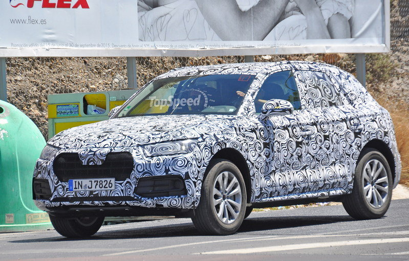 2017 Audi Q5 High Resolution Exterior Spyshots - image 640001